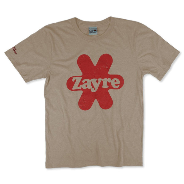 Zayre T-Shirt Front Faded Brown