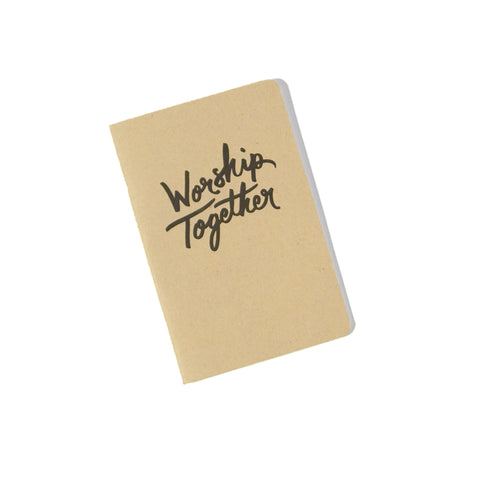 Worship Together Notebook
