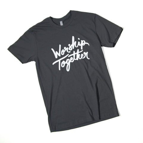 Worship Together Script T-Shirt