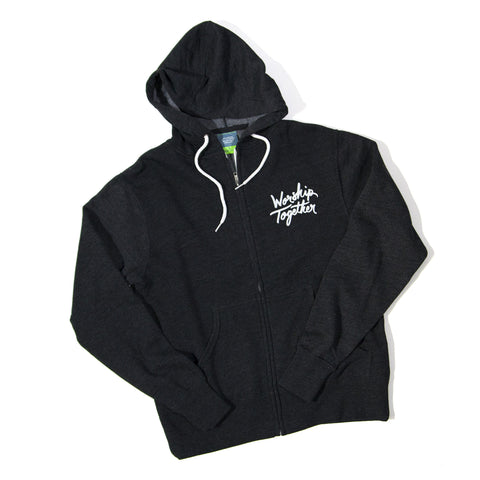 Worship Together Grey Logo Zip Hoodie