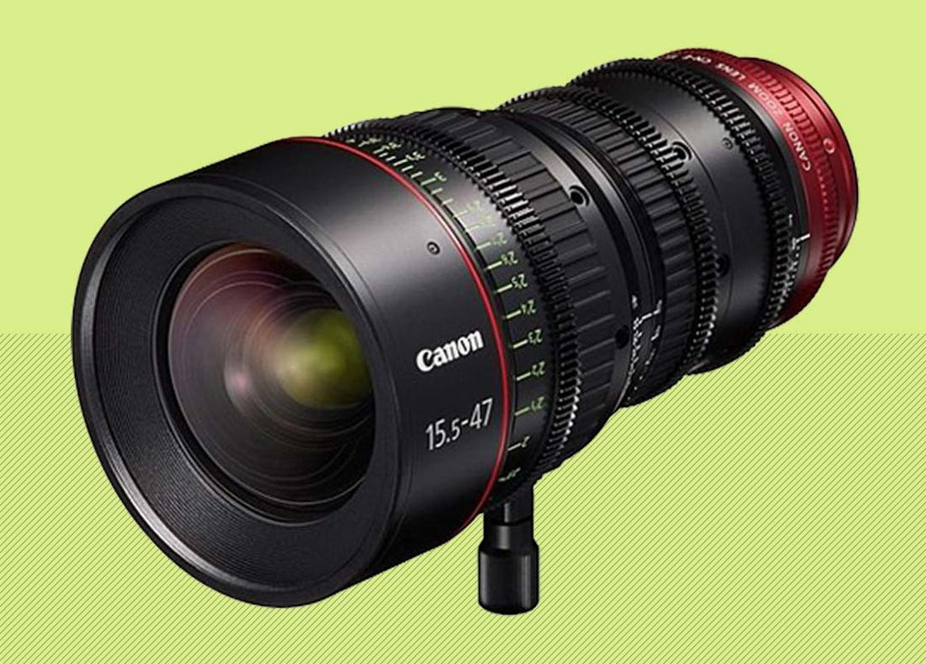 We Now Carry Canon's Cinema Lenses