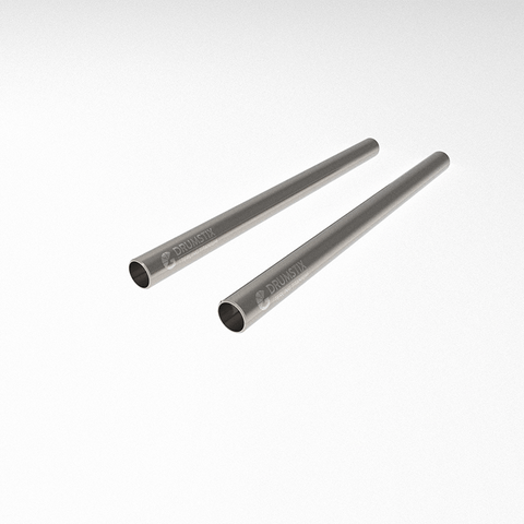 "Drumstix Titanium 15mm Support Rods 9"" Pair"