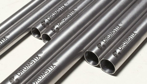 "Drumstix Titanium 15mm Support Rods 12"" Pair"