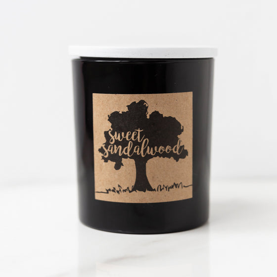 Sweet Sandalwood Soy Candle