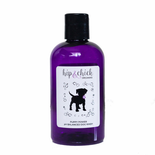 puppy power lavender eucalyptus ph balanced natural organic dog shampoo wash