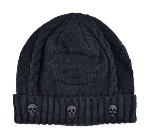 Knitted Skull Hat
