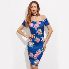 Elegant Floral Summer Dress