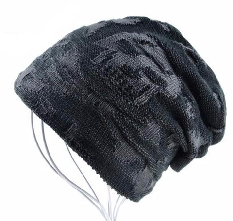 Distressed Skull Beanie