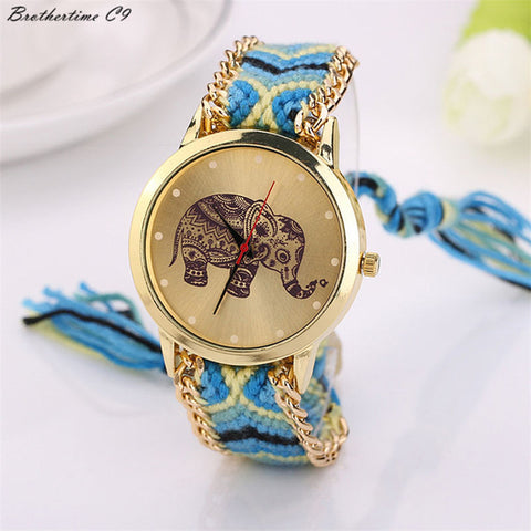Elephant Braid Watch