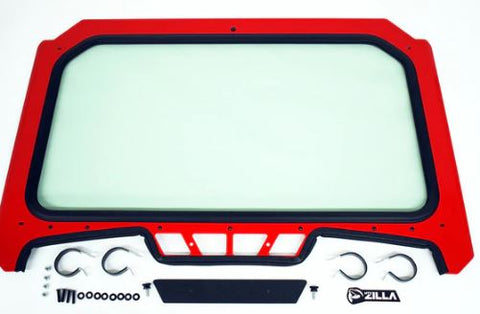 Full Glass Windshield for 2019 RZR XP 1000, Turbo (Wiper Optional)