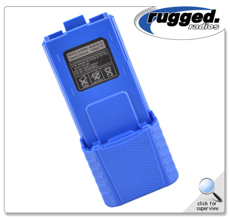 RH-5R High Capacity 3800mAh Radio Battery Rugged Radio