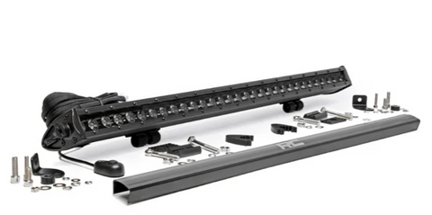 30-INCH CREE LED LIGHT BAR - (SINGLE ROW | BLACK SERIES)