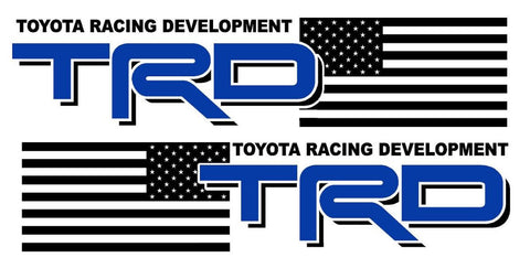 TRD USA 2 COLOR - Vinyl decal Outdoor vinyl