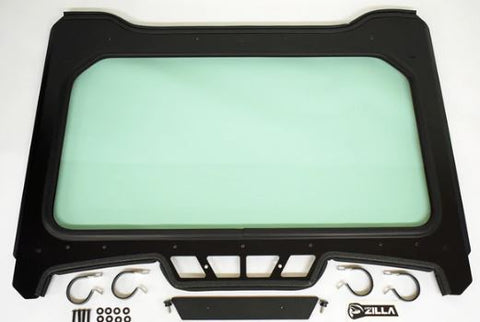 "Full Glass Windshield for Polaris RZR Turbo ""S"" Model (Wiper Optional)"