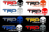 Truck Car Decal - TRD Punisher Edition 2 COLOR - Vinyl decal Outdoor vinyl