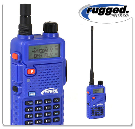 RH-5R Rugged Radios 5-Watt Dual Band (VHF/UHF) Handheld Radio Rugged Radio