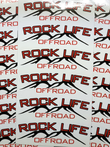 RockLife Offroad Printed Decal w/Free Can Koozie!