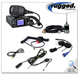 Single Seat Kit with 25-Watt Waterproof Radio Rugged Radio