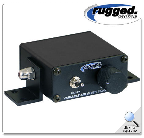 Variable Speed Controller for MAC 3.2 Pumper Rugged Radio
