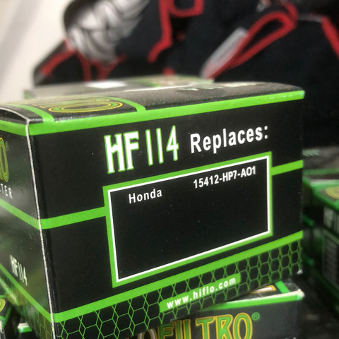 HF114Premium Oil Filter — Cartridge