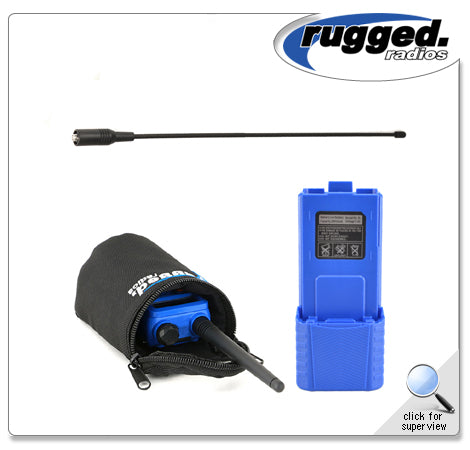 RH-5R Long Range Upgrade Kit Rugged Radio