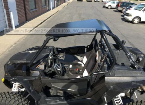 Aluminum Roof for 2 Seat RZR 1000, 900, TURBO UTV ZILLA