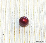 Pick A Pearl Oyster Freshwater Cultured Loose Pearl Round Cranberry Red Merlot Pearls for Pearl Cages, Charms, Necklaces