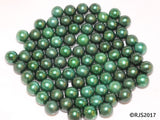 Pick A Pearl Oyster Freshwater Cultured Loose Pearl Round Green for Pearl Cages, Charms, Necklaces