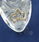 Cinderella Glass Slipper .925 Silver Tiara Buckle with Swarovski Crystals Engagement Wedding Birthday Gift