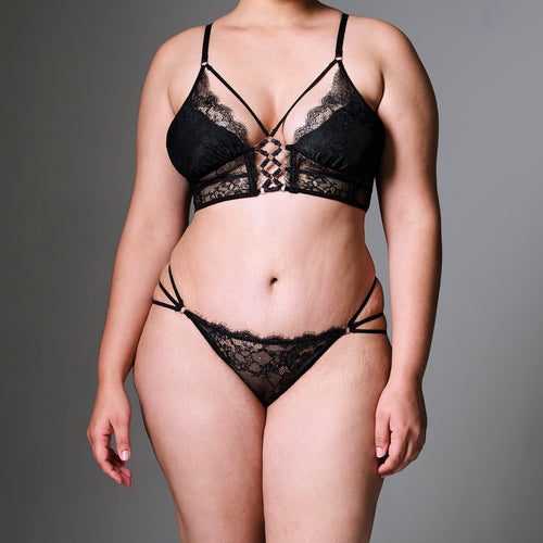 Constellation Long Line Bra- FINAL SALE