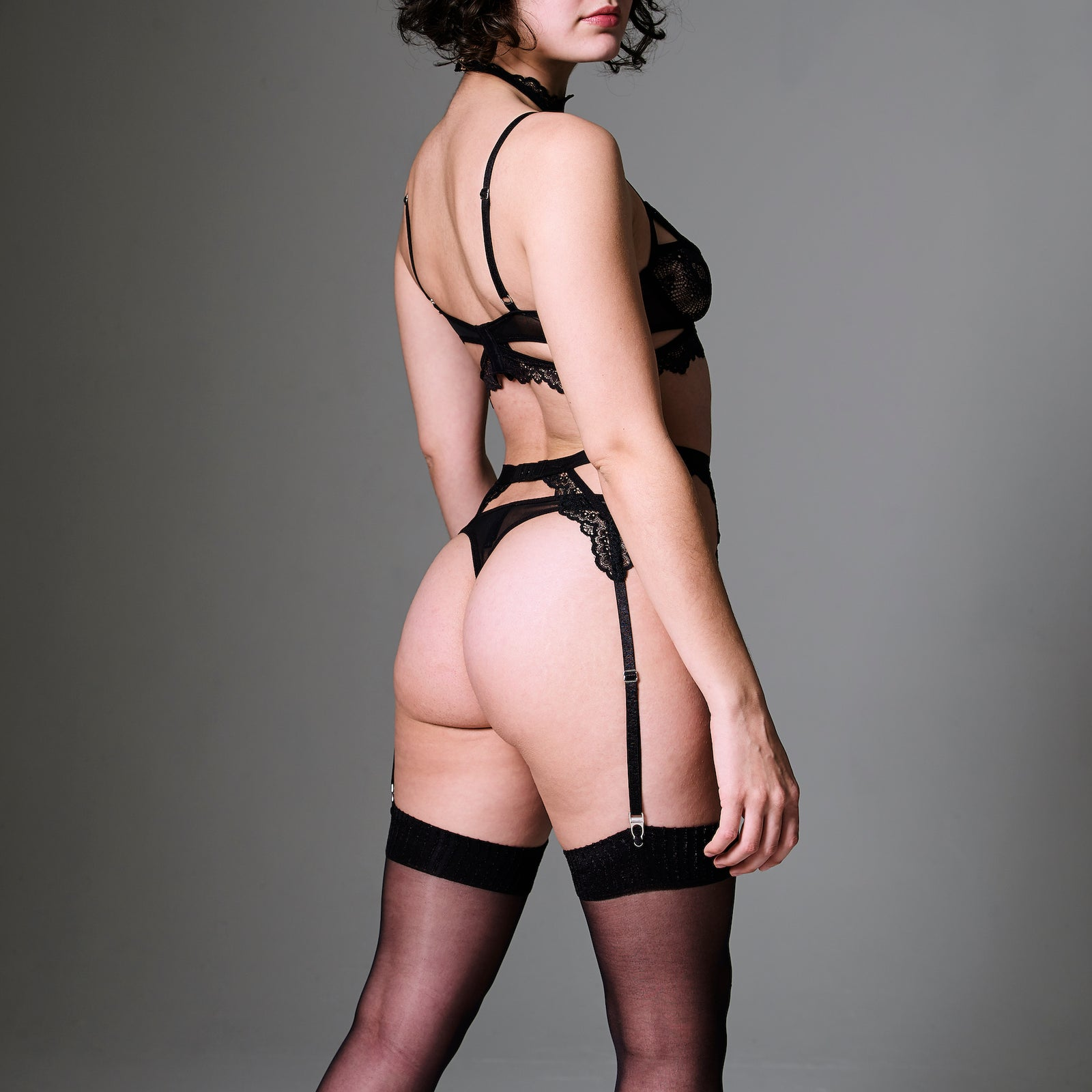Kane Garter With Removable Choker