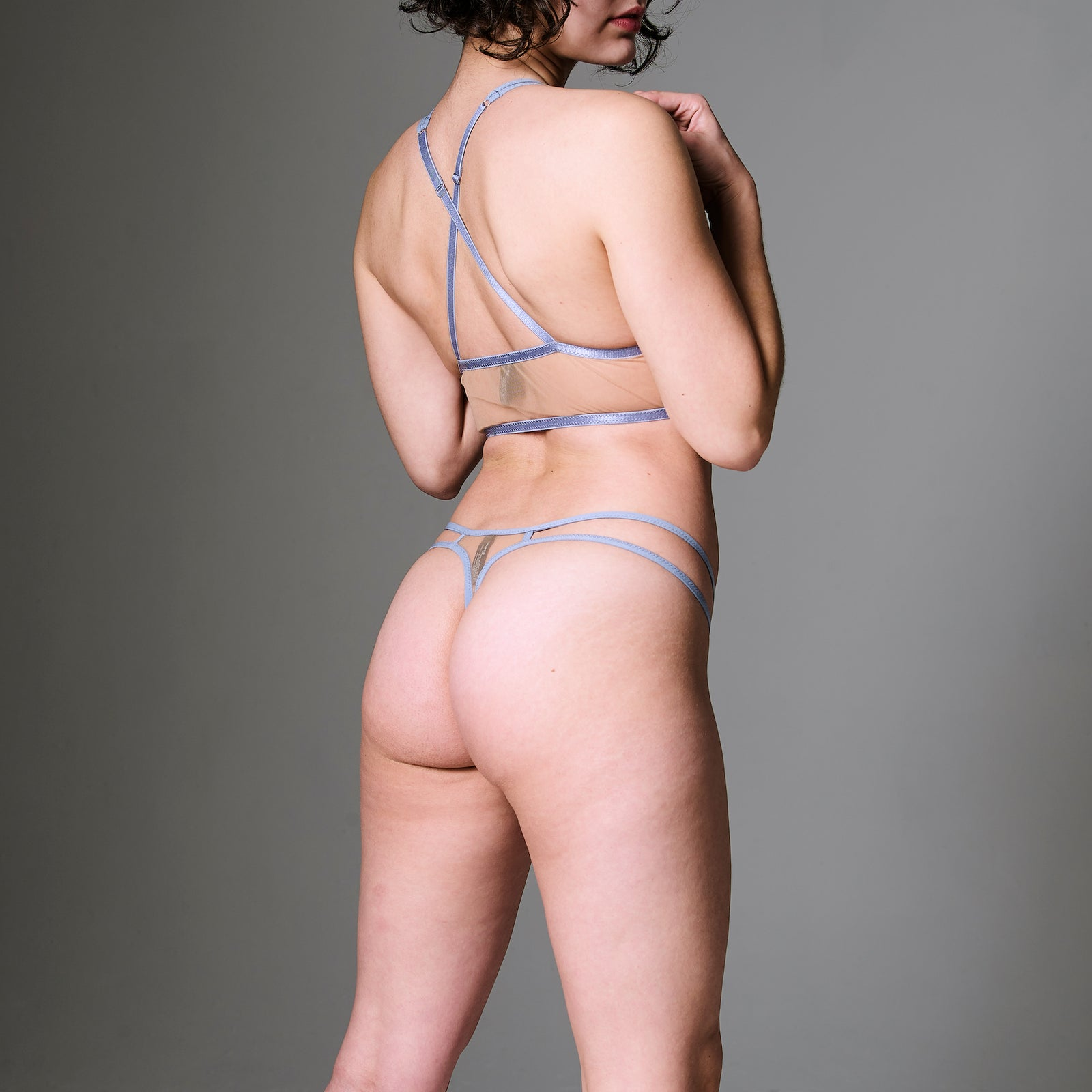 Medusa Thong - Chambray