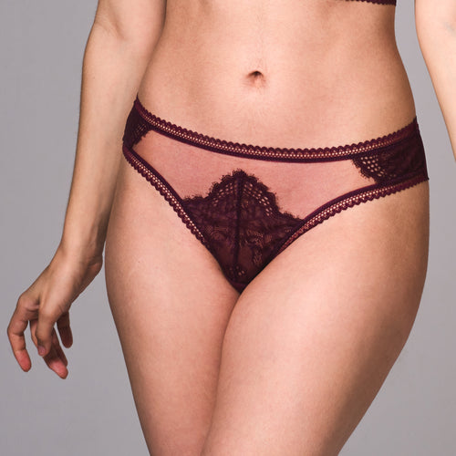 Mirage Thong - Cherry