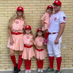 Harris Family A League of Their Own Halloween costume