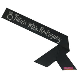 Future Mrs. Custom Sassy Sash