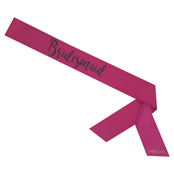 Bridesmaid Sassy Sash