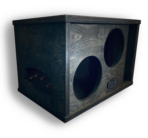 "TWO 8"" SUBWOOFER ENCLOSURE 1.5 CF"