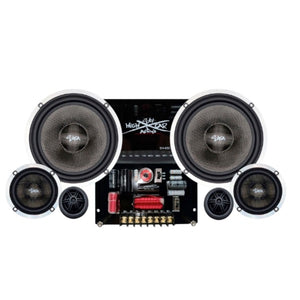 "SH-65C3E | 6.5"" 3 WAY COMPONENT SPEAKER SYSTEM"