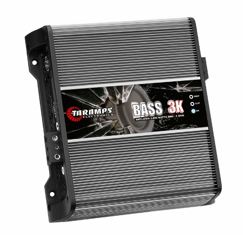 BASS 3K | 3,000 WATT MONOBLOCK CAR AMPLIFIER