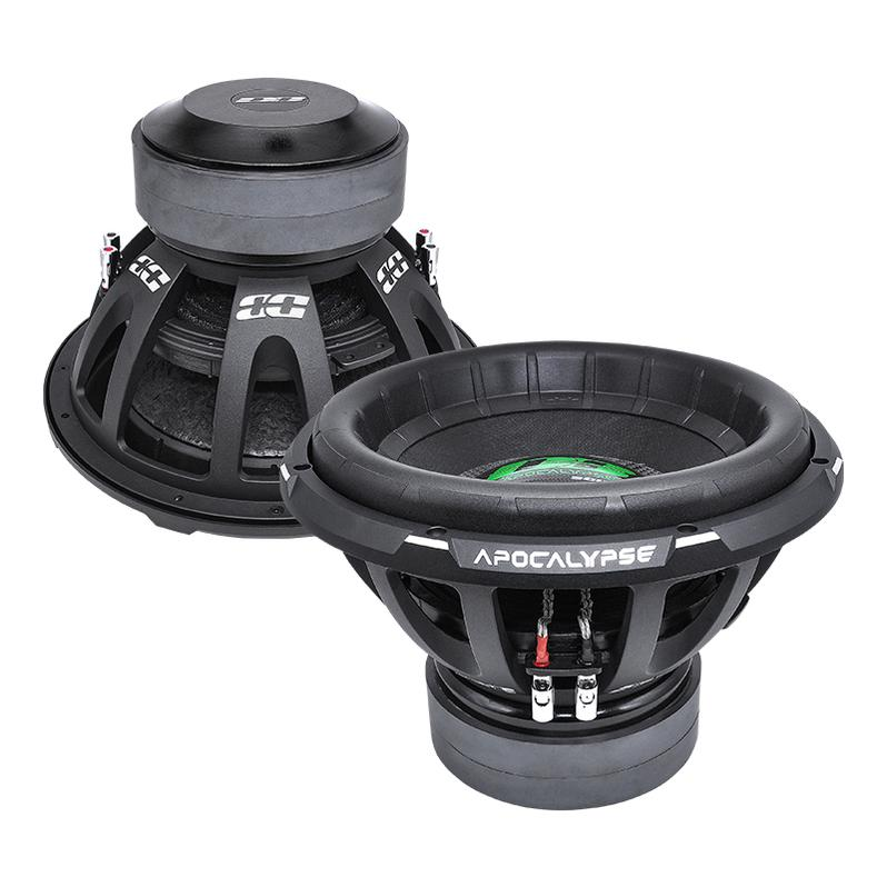 "APOCALYPSE DB-3015R | 15"" 2,800 WATT RMS CAR SUBWOOFER"