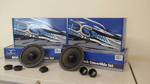 "DC Audio 6.5"" Convertible Speakers"