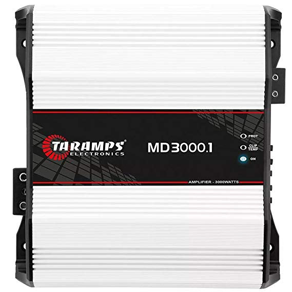 MD3000.1 - 1 OHM | 3,000 WATT MONOBLOCK CAR AMPLIFIER
