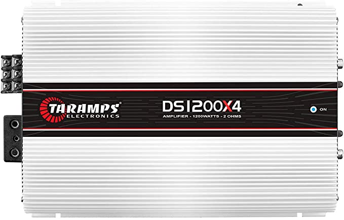 DS 1200x4 2 OHM | 1,200 WATT 4 CHANNEL CAR AMPLIFIER