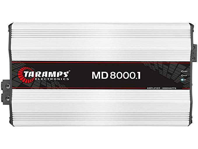 MD8000.1 - 1 OHM | 8,000 WATT MONOBLOCK CAR AMPLIFIER