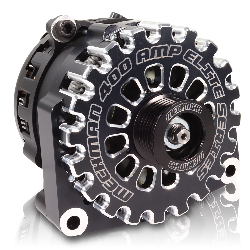 Mechman Black 400 Amp High Output Alternator for 1996-2004 GM Truck 4.3L 4.8L 5.3L 5.7L 6L