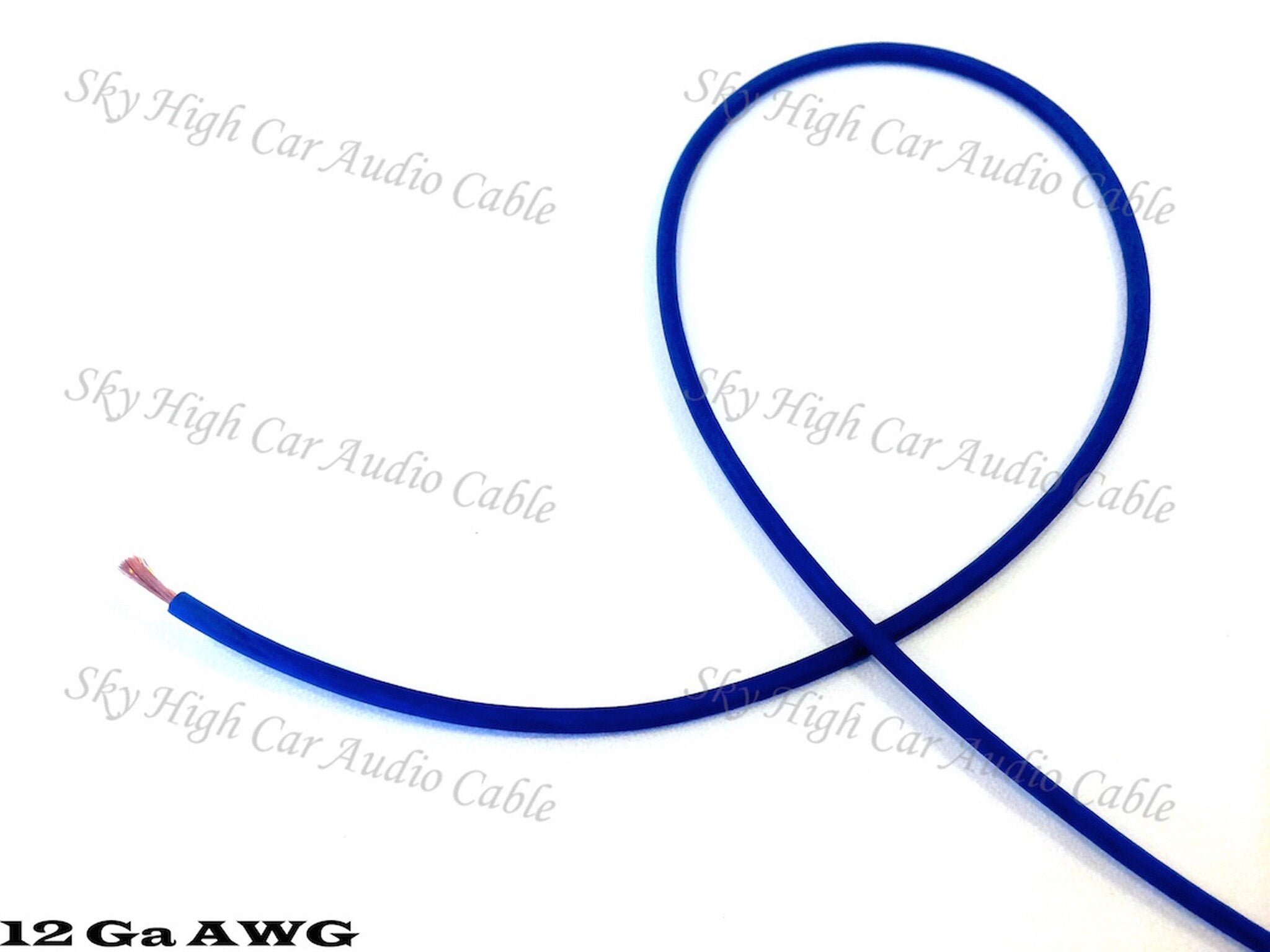 Sky High Car Audio OFC 12 Gauge Primary Wire 25ft-100ft
