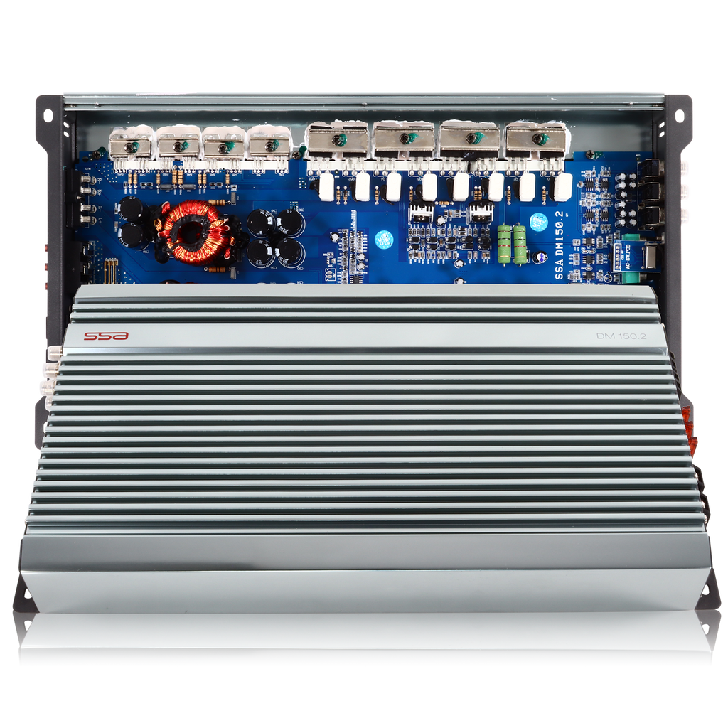 DM150.2 | 500 WATT 2 CHANNEL CAR AMPLIFIER