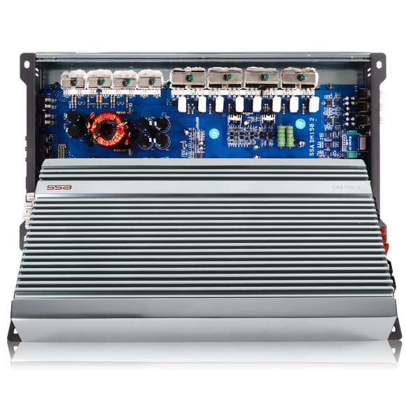SSA DM150.2 - 2 Channel Amplifier
