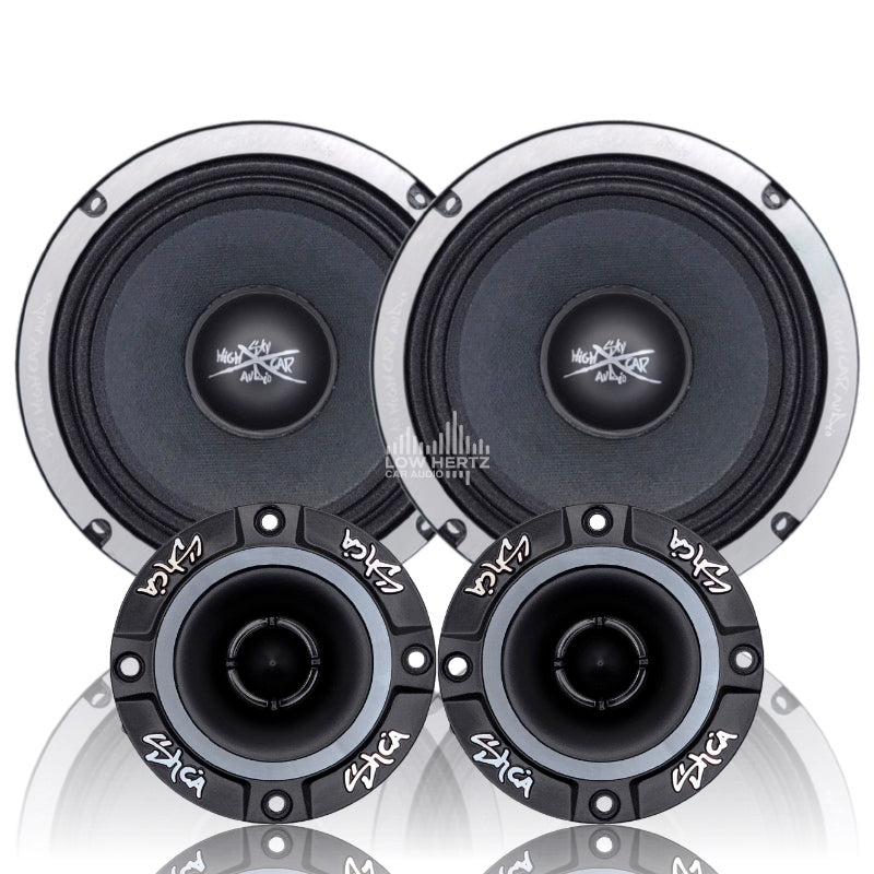SH-ELTW1PK | MID AND HIGH COMPLETE SPEAKER PACKAGE