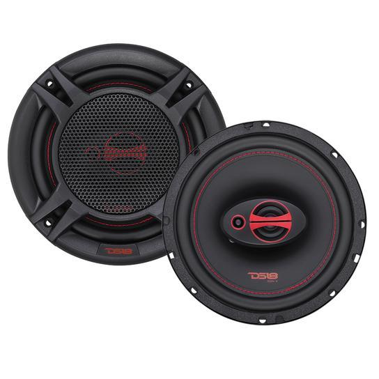"GEN-X6.5 | 6.5"" 50 WATT PERFORMANCE COAXIAL CAR SPEAKERS - PAIR"